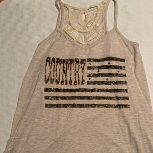 Country tank from maurices. Worn once